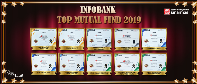 Penghargaan InfoBank - TOP MUTUAL FUND 2019